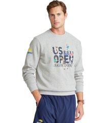 polo ralph lauren men's us open performance graphic sweatshirt