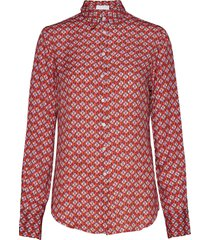 2nd anastasia cirque blouse lange mouwen rood 2ndday