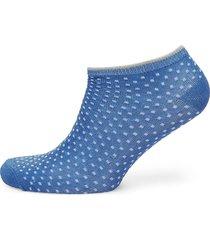 dollie dot footies träningssockor/ankle socks blå becksöndergaard