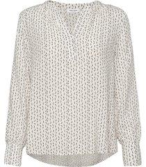 blouse long-sleeve blus långärmad vit gerry weber