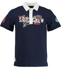 gaastra polo shirt kento 1357105181/b009 - gaastra poloshirt met korte mouwen donkerblauw 100% katoen - gaastra poloshirt met korte mouwen donkerblauw