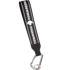 dsquared2 printed key chain