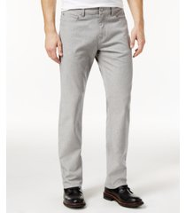 alfani men's straight-fit gray wash jeans, created for macy's
