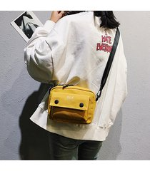 mini tracolla donna canvas canvas borsa crossbody borsa