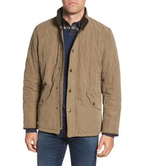 men's barbour bowden quilted jacket, size xx-large - green