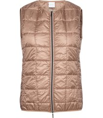 verbena vests padded vests roze max mara leisure