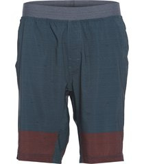 prana men's super mojo shorts 2.0 - grey blue weave stripe x-large cotton