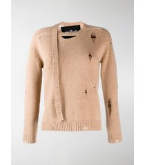 marc jacobs the marc jacobs the worn and torn sweater