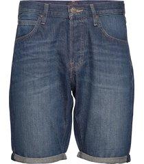 5 pocket short jeansshorts denimshorts blå lee jeans