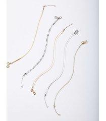 loft herringbone bracelet set