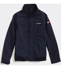tommy hilfiger boy's adaptive signature yachting jacket sky captain - xs