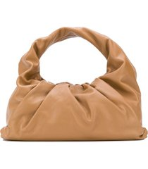 bottega veneta the shoulder pouch bag - brown