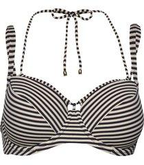 md holi vintage padd.balc. bikini top bikinitop blauw marlies dekkers