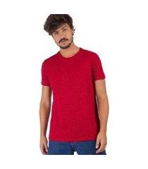camiseta taco básica flamê fit premium masculina