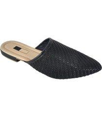 mule slipper sapatoweb tranças