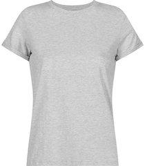 camiseta básica unicolor manga corta para mujer freedom 01044