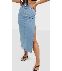 calvin klein jeans maxi skirt maxikjolar