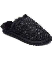 janis slipper slippers tofflor svart michael kors