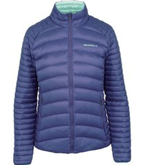 parka mujer ridgevent thermo insulated morado merrell