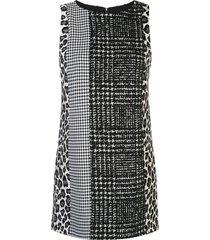 alice+olivia clyde shift dress - black