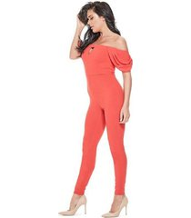 enterito cold shoulder jenner jumpsuit naranjo guess