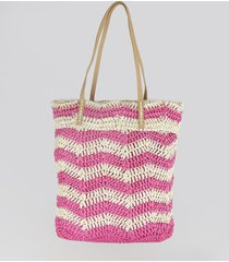 bolsa shopper listrada pink