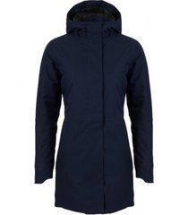 agu regenjas women urban outdoor clean jacket navy blue