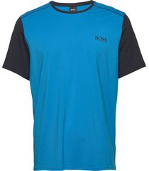 balance t-shirt rn t-shirts short-sleeved blå boss