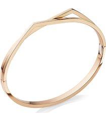'antifer' rose gold double row bracelet