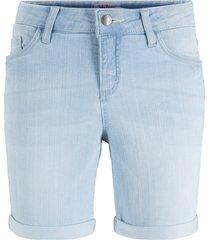 shorts di jeans elasticizzati comfort (blu) - john baner jeanswear