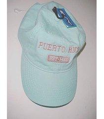 puerto rico est. 1493 united states adult unisex aqua marine baseball cap new