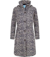 happyrainydays regenjas coat mara cheetah midnight ginger-xxl
