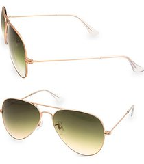 mason 58mm aviator sunglasses