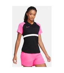camiseta nike dri-fit academy feminina