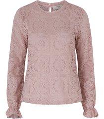 spetsblus crtiley lace blouse