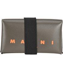 marni pvc logo wallet
