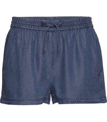 indigo tencel shorts shorts flowy shorts/casual shorts blå calvin klein jeans