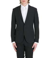 tonello blazer in shantung