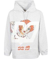 msgm mila print hoodie