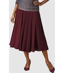 kjol alba moda bordeaux