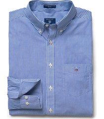gant heren overhemd college gestreept button-down poplin regular fit