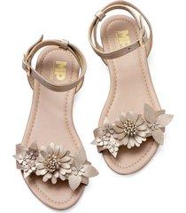 sandalias adulto femenino dorado marketing personal