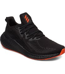 alphaboost shoes sport shoes running shoes svart adidas performance