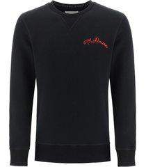 alexander mcqueen sweatshirt with logo embroidery