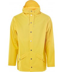 rains regenjas jacket yellow-xs / s