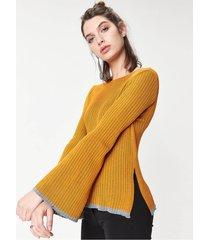 sweater mostaza desiderata