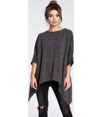 bluza asymetryczna oversize