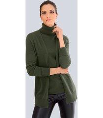 vest alba moda groen