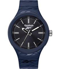 reloj  warm up azul marino reebok