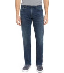 men's citizens of humanity sid straight leg jeans, size 32 - blue